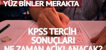 KPSS tercih sonuçları: Heyecan had safhada