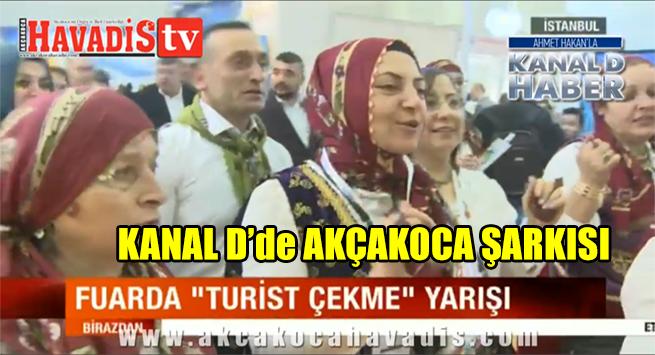 Ahmet Hakan'la KANAL D Haber de AKÇAKOCA ŞARKISI
