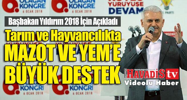 Başbakan Açıkladı.. Mazot ve Yem'e Büyük Destek…