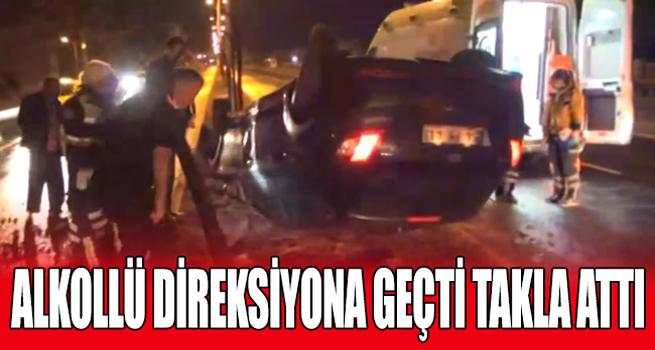Gece Meydana Gelen Kazada 1 Kişi Yaralandı