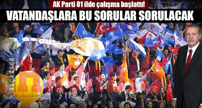 AK Parti, 81 ilin 'tomografisini' çekiyor