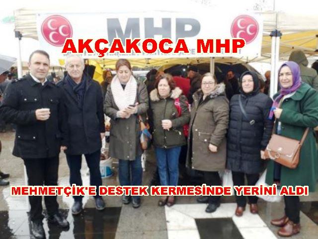 MHP'DEN MEHMETÇİK'E DESTEK