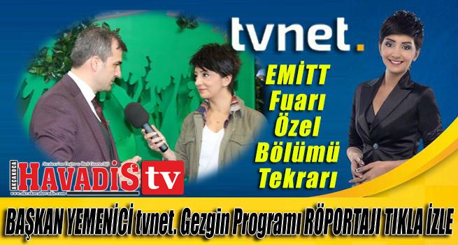 TVNET Gezgin Programı Emitt Akçakoca Stantı Başkan Yemenici Röportajı