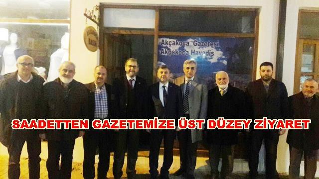 SAADET PARTİ GENEL BAŞKAN YARDIMCISI YEREL BASINI ZİYARET ETTİ