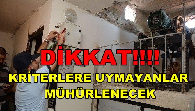 Dikkat! Asansörlerde Sıkı Denetim EKSİKLİKLER GİDERİLMEZSE ASANSÖRLER KULLANIMA KAPATILACAK!!