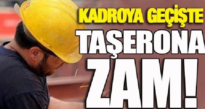 Bakandan Müjde Kadroya Geçenlere ZAM