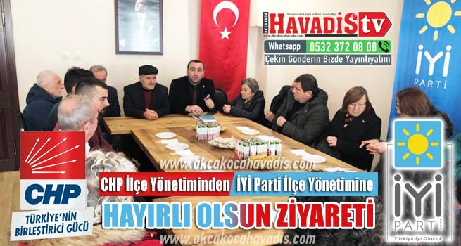 CHP den İYİ Partiye Hayırlı Olsun Ziyareti
