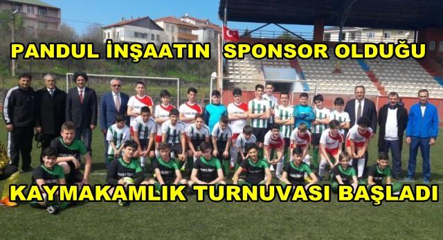 KAYMAKAMLIK 13-15 YAŞ GURUBU FUTBOL ŞAMPİYONASI BAŞLADI