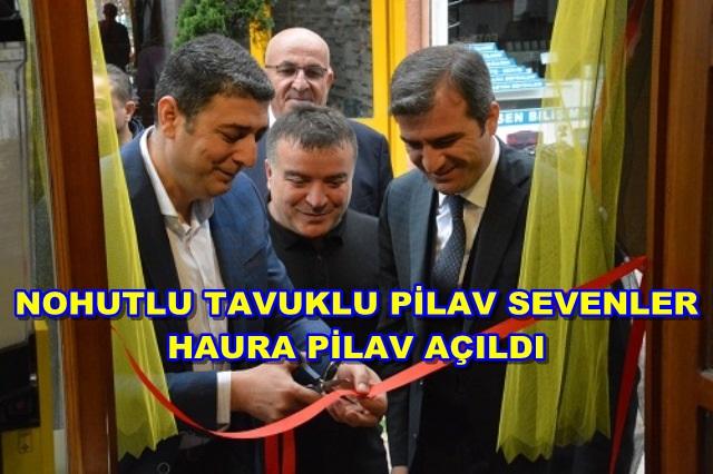 HAURA PİLAV HİZMETTE