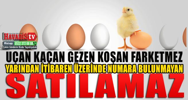 """""""Köy Yumurtası Hilesi""""Ni Bitirecek Uygulama Yarın Başlıyor"""