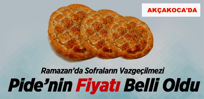 DESOB RAMAZAN PİDE FİYATLARINI AÇIKLADI