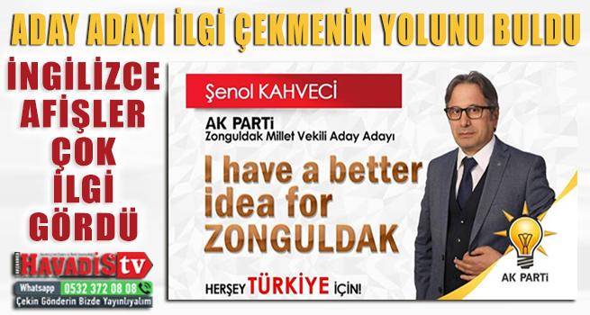 Zonguldak Milletvekili aday adayının İngilizce mesajı yoğun ilgi topladı