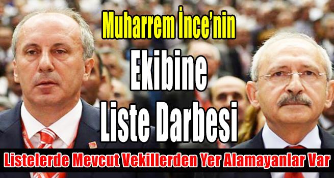 CHP'de Mevcut Vekillerden Listelerde Yer Almayanlar Var….