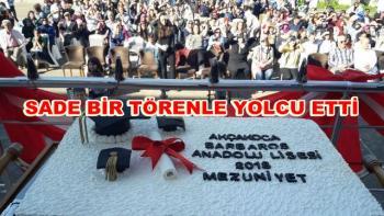 Barbaros Anadolu 'dan Filistin Hassasiyeti MEZUNİYET TÖRENİ EĞLENCE BÖLÜMÜNÜ İPTAL ETTİ