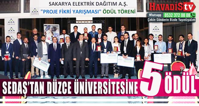 Düzce Üniversitesi 5 Ödülle Döndü