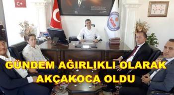 MHP'DEN KURUMLARA ZİYARET