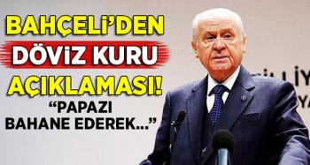 Bahçeli; Başaramayacaklar, yapamayacaklar, Türkiye'nin ekonomik çöküşünü sağlayamayacaklar!