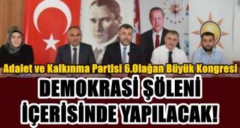 Keskin'den kongre açıklaması: Demokrasi şöleni içerisinde yapılacak!