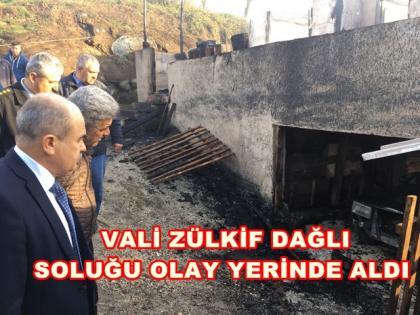"""VALİ DAĞLI """"ACIMIZ BÜYÜK"""""""