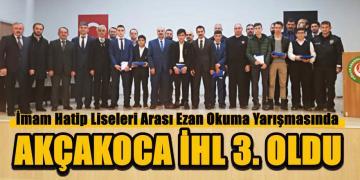 """""""Genç Bilaller Ezan Okuma Yarışması""""nın İl Finali Yapıldı."""