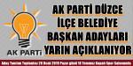 AK Parti'de Gözler Pazar Gününe Çevrildi!