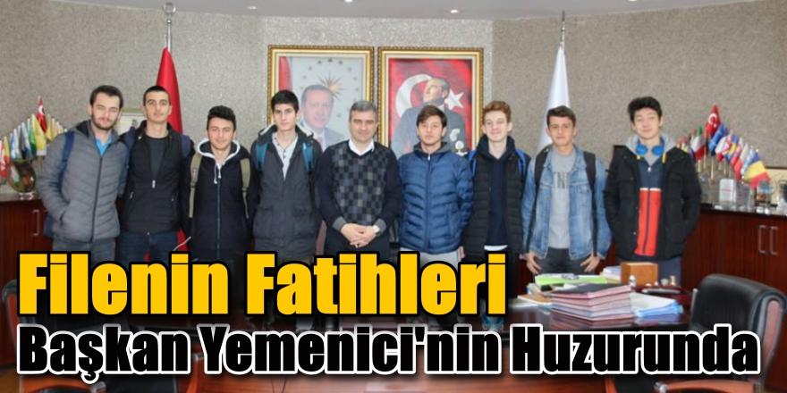 Filenin Fatihleri Başkan Yemenici'yi Ziyaret Etti
