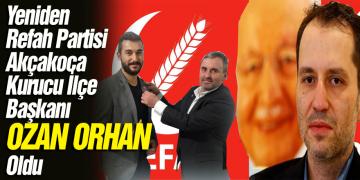 Yeniden Refah Partisi Akçakoca'da Örgütleniyor