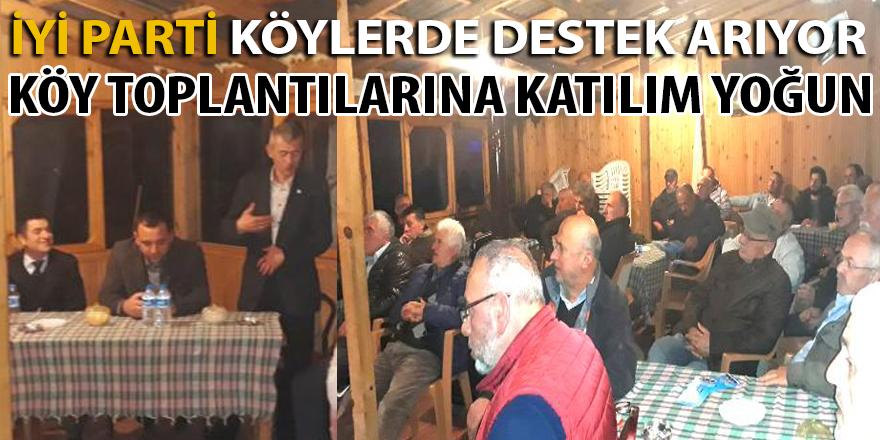 İYİ Parti İGM Üyeleri Köylerde İlgi Görüyor