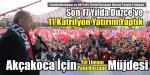 Cumhurbaşkanı Erdoğan 31 Martta Düzce'yi Özel Olarak Takip Edeceğim