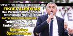 Başkan Albayrak Sloganlarıyla Chp – İyi Parti Miting Yaptı