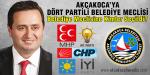 Akçakoca Belediyesi Meclisinde 4 Parti Olacak