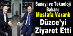 Mustafa Varank Düzce'de!