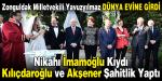 Zonguldak Milletvekili Yavuzyılmaz Dünya Evine Girdi