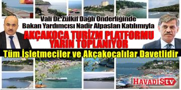 Akçakoca Turizm Platformu Toplanıyor