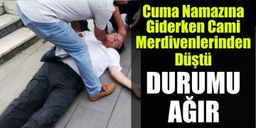 Akçakoca Merkez Cami Merdivenlerinden Düştü