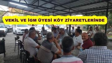 MHP HEYETİ KÖYLERDE SORUNLARI DİNLİYOR