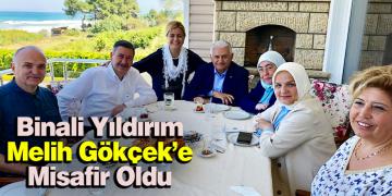 Binali Yıldırım Akçakoca'da Melih Gökçek'in Misafiri Oldu