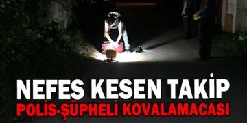 Polis Şüpheli Kovalamacası Bir Valiz Bırakıp Kaçtılar