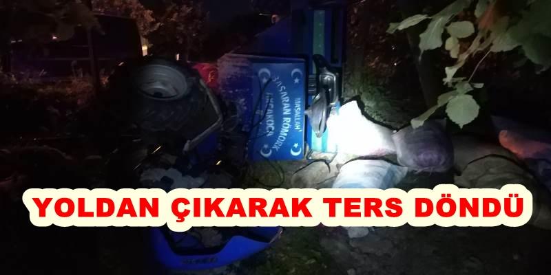 PAT PAT DEVRİLDİ 9 YARALI