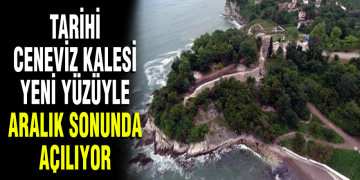 TARİHİ CENEVİZ KALESİ RESTORASYON ÇALIŞMALARINDA SONA GELİNDİ