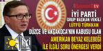 İYİ Parti Grup Başkan Vekili Türkkan'da Amerikan Beyaz Kelebeği İle İlgili Soru Önergesi