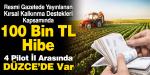 Tarımsal ve Hayvansal Girişimcilere 100 Bin TL Hibe Desteği!