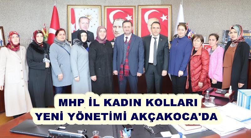 MHP İL KADIN KOLLARINDAN , BAŞKAN YANMAZ'A ZİYARET