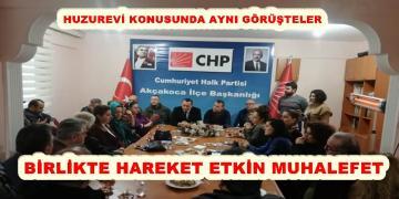 İYİ PARTİDEN CHP'YE ZİYARET