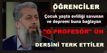 O PROFESÖR'E TOKAT GİBİ TEPKİ