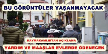 PTT ŞUBELERİNE GİTMEYİN MAAŞ VE YARDIM ÖDEMESİNİ Yapmayacak