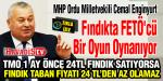 MHP'li Cemal Enginyurt: Fındıkta FETÖ'cü bir oyun oynanıyor