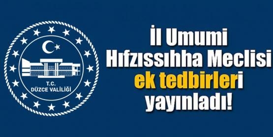 VALİLİK YENİ KARARLARI AÇIKLADI!