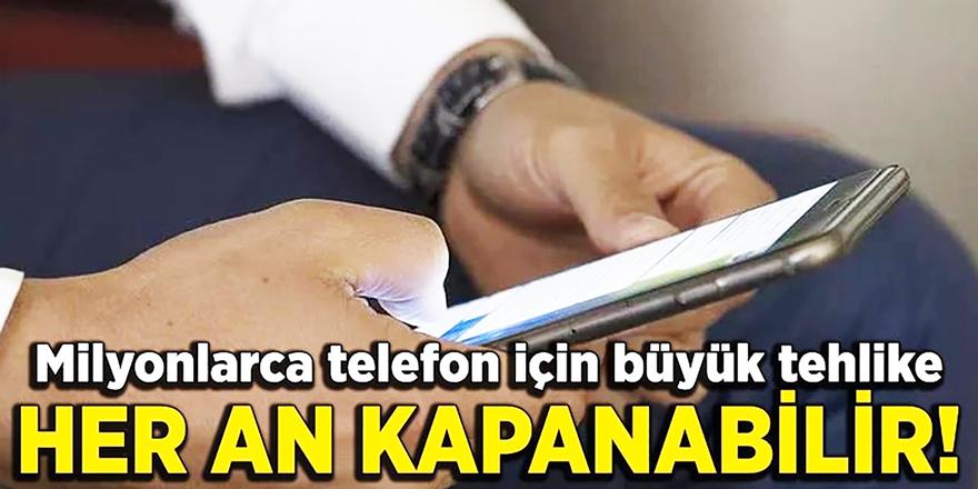Yasa Çıkarsa Her An Telefonunuz Kapanabilir