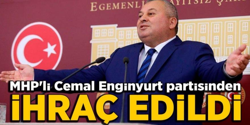 MHP'li Cemal Enginyurt partisinden ihraç edildi